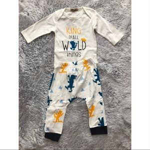 6-12 Months Wild Things Outfit